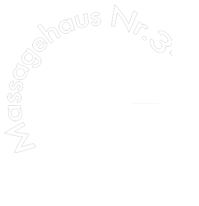 Logo von Massagehaus Nr.3 in Dortmund weiß