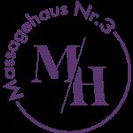 Logo von Massagehaus Nr.3 in Dortmund Lila